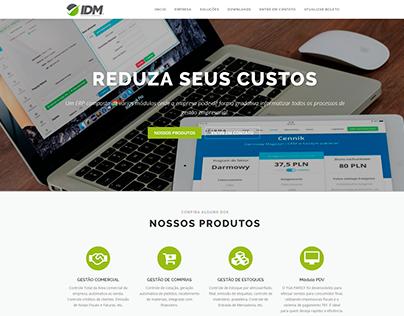 Site - IDM Assessoria - www.idmassessoria.com.br