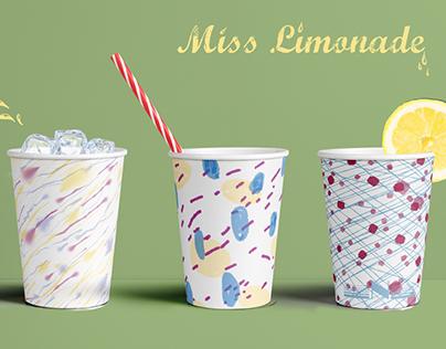 Miss Limonade, surface design