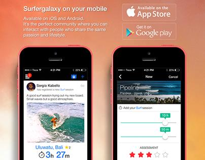 Surfergalaxy Social Network