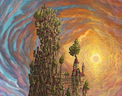 A Delicate Balance: The Kingdom jigsaw puzzle design