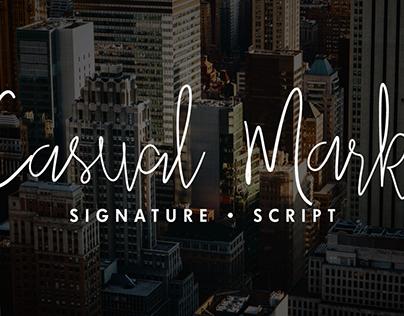 Casual Mark Script