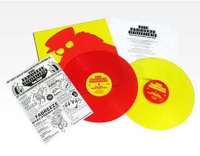 The Fabreeze Brothers 'The Fabreeze Brothers' 2 x LP
