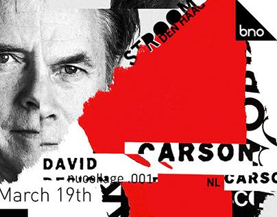 Studio Renate Boere: David Carson Lecture