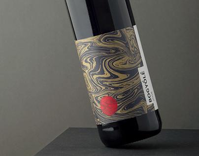 Bogyólé | Vylyan Wine label concept