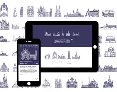 100 Architectural Masterpieces App