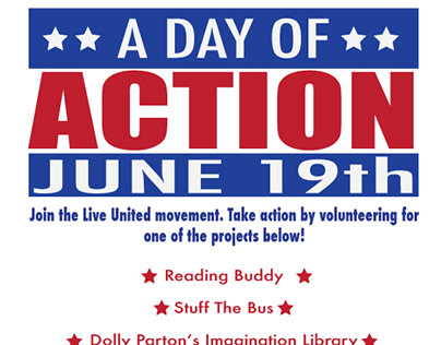 Day of Action flyer