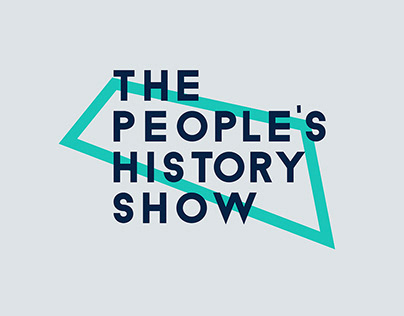 The People's History Show Branding