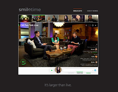 Smiletime Website