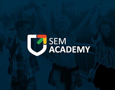 SEM ACADEMY branding/web design