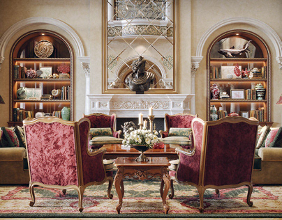"""luxury Mansion Interior """"Dubai"""""""