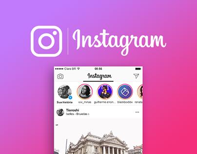 Instagram Feed Mockup'17