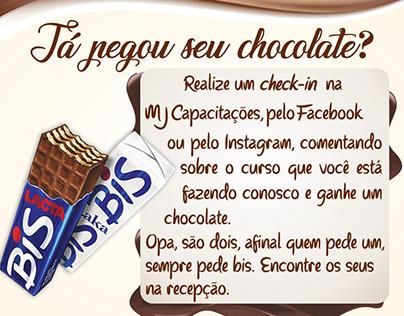 Já Pegou seu Chocolate