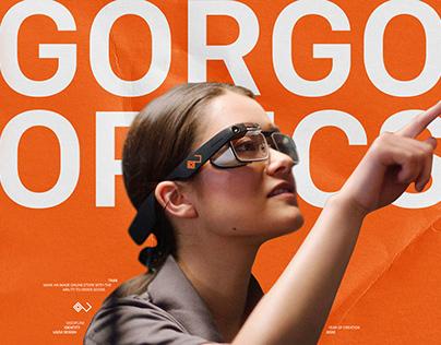 Gorgon Optics — smart glasses | UX/UI, website