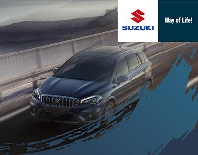 Advertising work for Suzuki