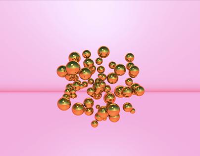 C4d - Breaking diamond on Behance