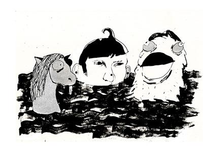 lebasota graphic Ambrose Bierce «In the Midst of life»