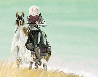 Adventurer and Steed