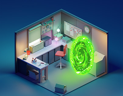 Rick and Morty lab