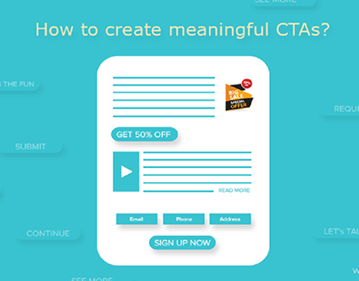 #WebsiteRedesign: How to Create Meaningful CTAs?