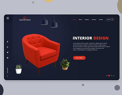 Best Interior Design Website Templates PSD