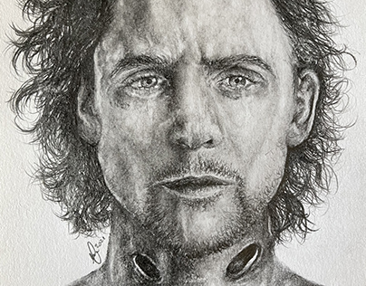 Quick Drawing of Tom Hiddleston