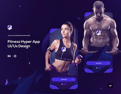 Fitness Hyper App Ui/Ux Design Concept