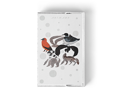 Illustrations for a Self-Released Tape