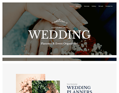 - Home - Wedding Planner -