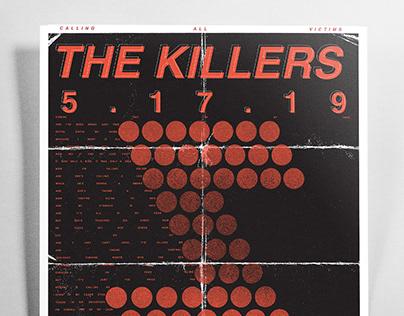 Killers Concert Poster
