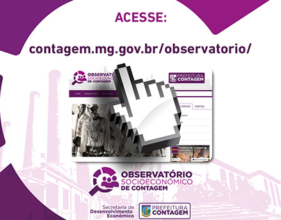 Prefeitura de Contagem - Lançamento Site Observatório