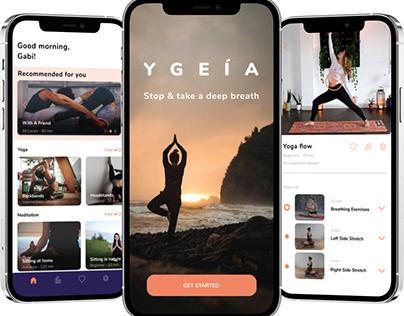 YGEIA - wellbeing app