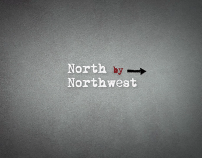 Title sequence of North by Northwest