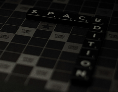 Scrabble / Space Edition / Design & Direct