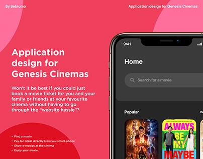 Genesis Cinemas Application Design
