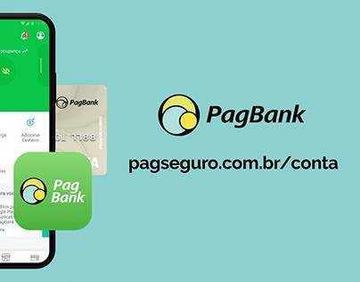 Reestilização do cartelado Conta Digital PagSeguro