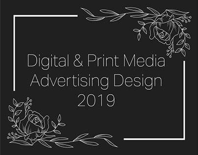 Advertising & Editorial Design   2019