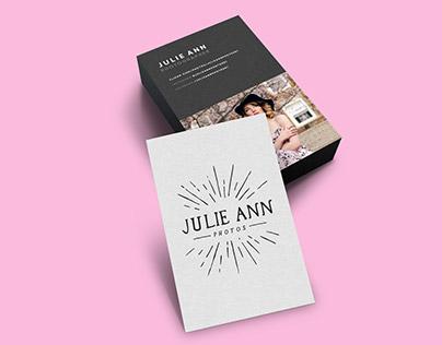 Julie Ann Photos // Branding