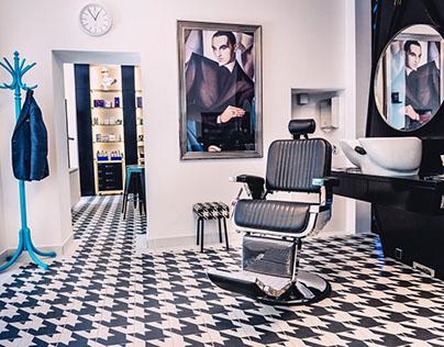 MR FOX BRNO - Barber shop interiérový design