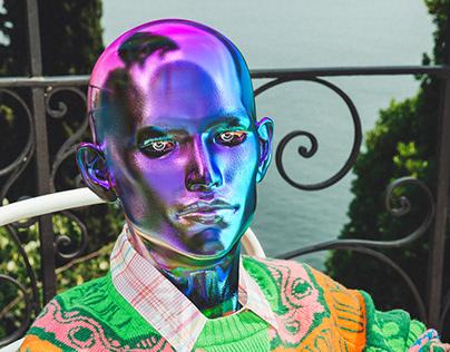 Humanoids move to Lake Como in Dior x Stussy