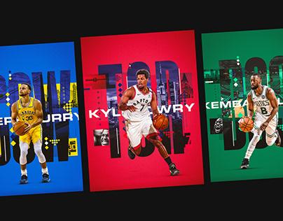 NBA | City Posters