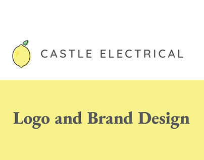 Castle Electrical Ltd Logo and Brand Design