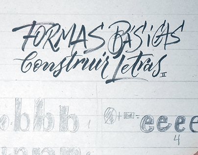 Learning Lettering