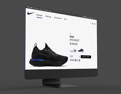 Nike React UI