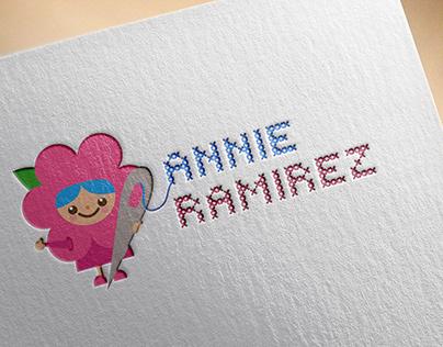 Logo design for Indie cross stitching artist