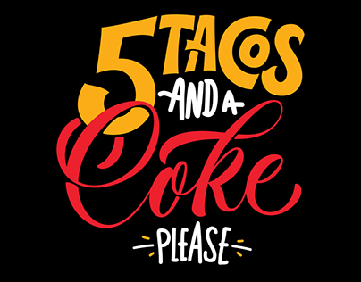 5 Tacos and a Coke