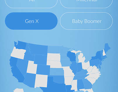 Retirement Readiness Map mobile