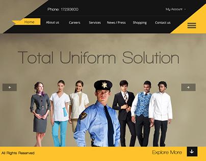 Uniform Website Design