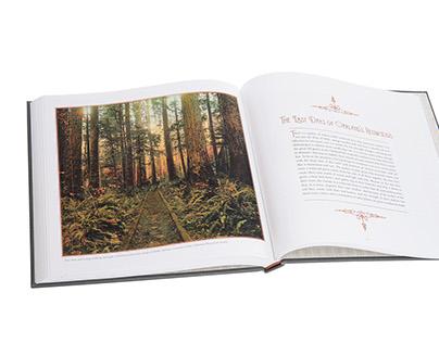 Book Design - Lost Worlds