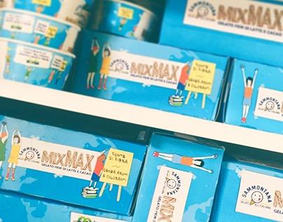 Multipack 8coppette gelatoMixMax Sammontana, Coop,Meyer