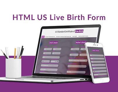HTML Form Design